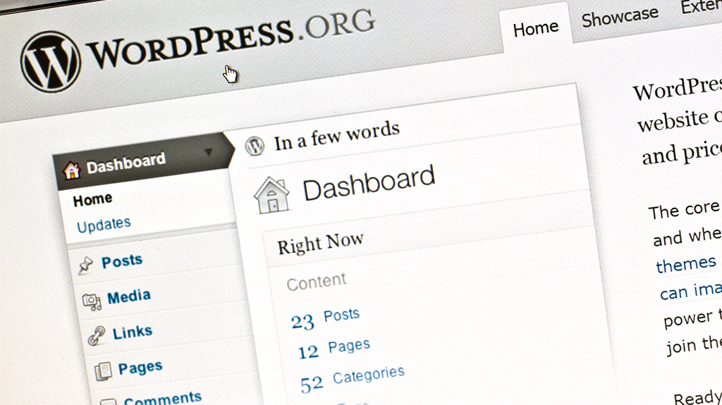 Chicago Wordpress Consulting Company Wordpress Dashboard