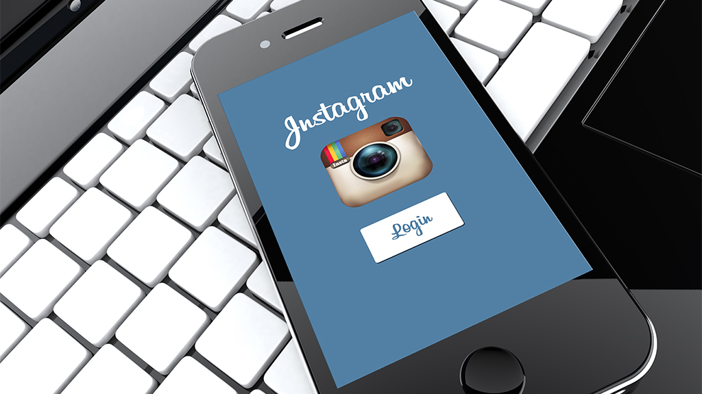 Image of Instagram on Phone in Instagram Guide for Businesses